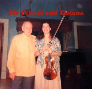 Sir Yehudi and Tiziana